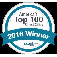 Americas Top 100 Safest Cities Award