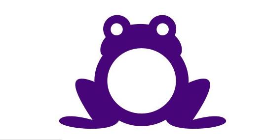 Purple frog Logo