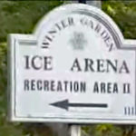 ice-arena sign