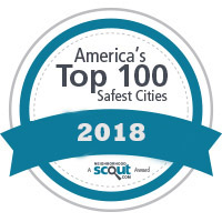 Americas Top 100 Safest Cities Award